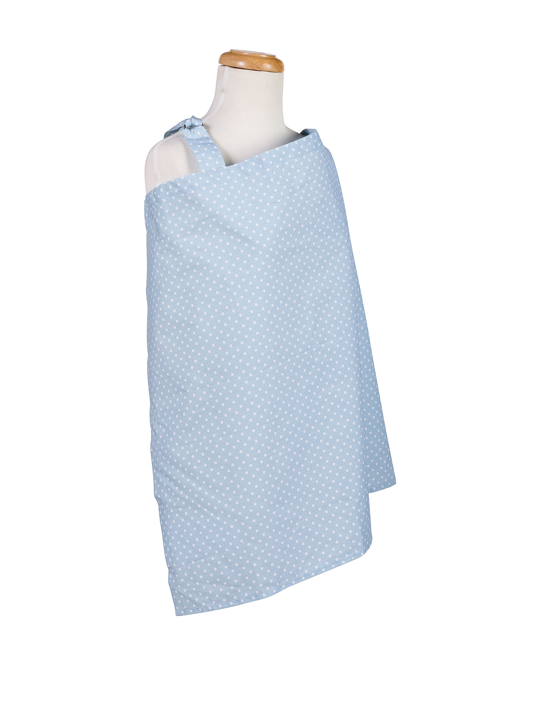 Trend Lab Blue / White Breastfeeding
