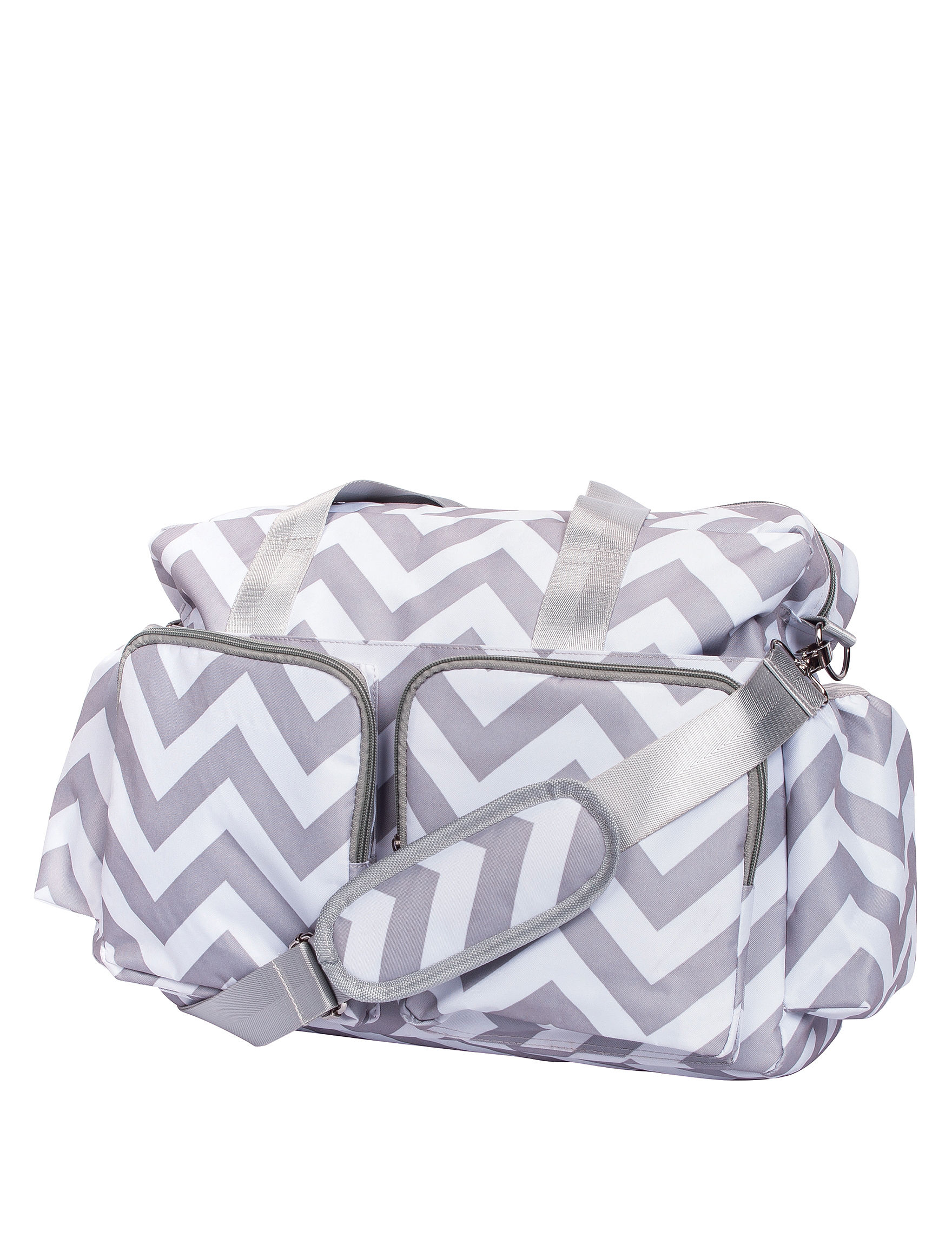 Trend Lab Grey / White Diaper Bags
