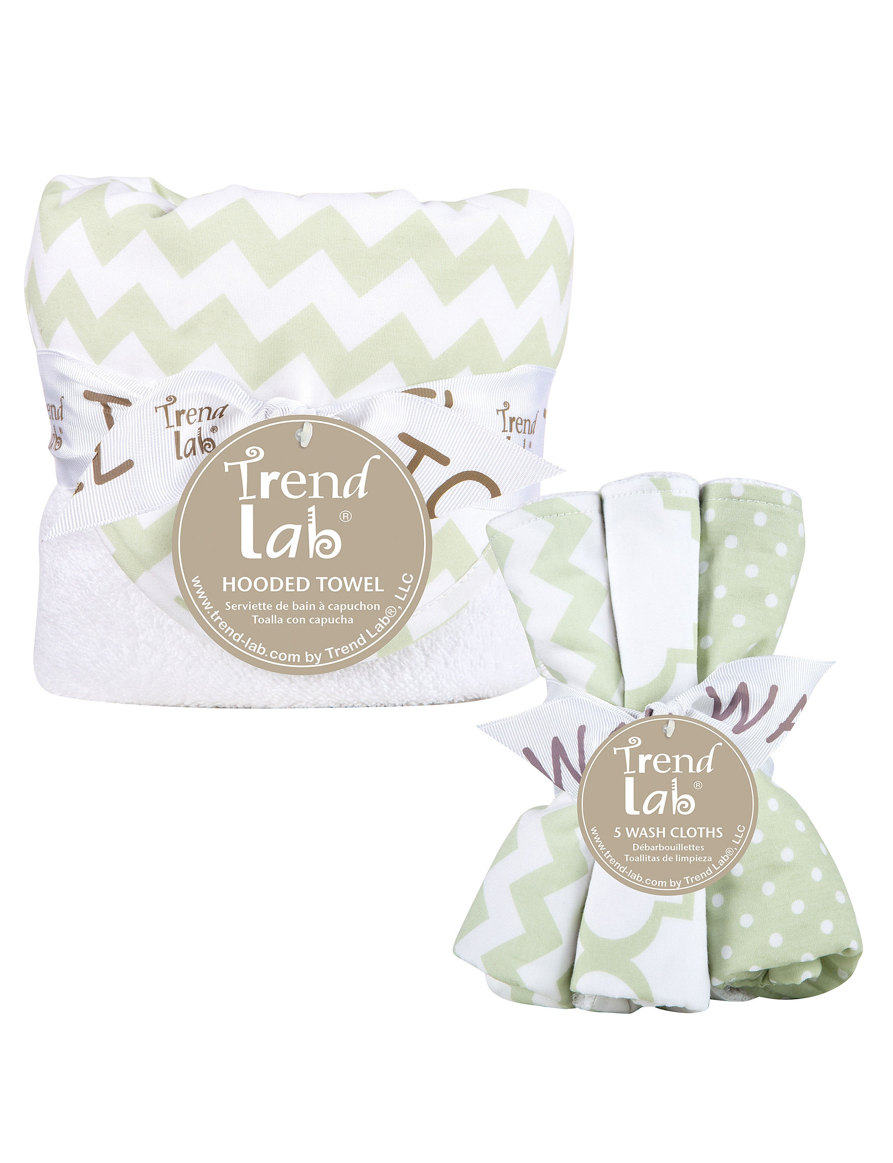 Trend Lab Green / White