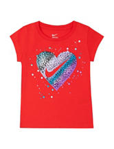 Nike® Heart Swoosh Top - Girls 4-6x