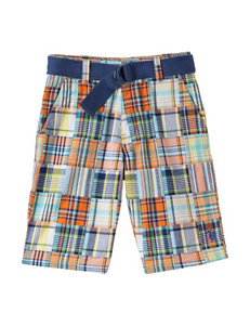 U.S. Polo Assn. Multicolored Madras Plaid Shorts – Boys 8-20