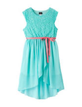 Pinky Lace Hi-Lo Dress – Girls 12-20