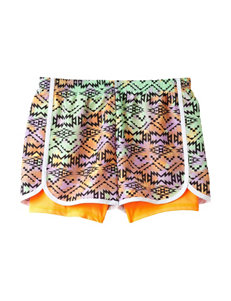 Wishful Park Multicolored Aztec Print Shorts – Girls 7-16