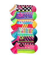 Capelli 6-pk. Sneaker Love No-Show Socks – Girls