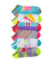 Capelli 6-pk. Dream Team No-Show Socks – Girls