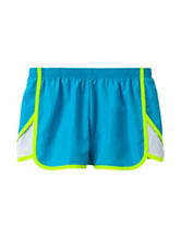 Wishful Park Chroma Blue Lined Shorts – Girls 7-16