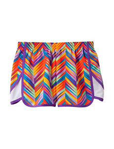 Wishful Park Multicolored Chevron Print Lined Shorts – Girls 7-16