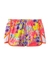 Wishful Park Multicolored Floral Print Performance Shorts – Girls 7-16