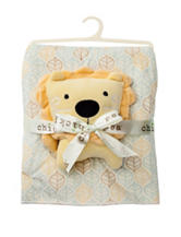 Cutie Pie Plush Blanket With Lion Plush Toy