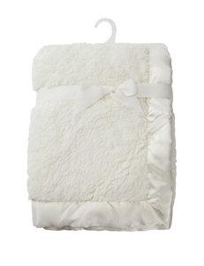 Baby Essentials Ivory Plush Blanket