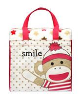 Baby Starters 2-pc. Sock Monkey Blanket & Tote Set