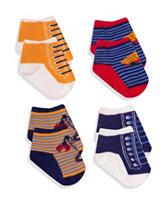 Baby Essentials 4-pk. Construction Sneaker Socks – Baby