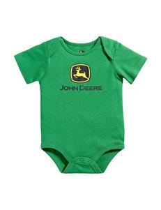 John Deere Green Logo Bodysuit – Baby 3-12 Mos.