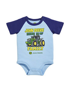 John Deere Runs In My Family Bodysuit – Baby 3-12 Mos.