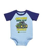 John Deere Runs In My Family Bodysuit – Baby 3-12 Mos.