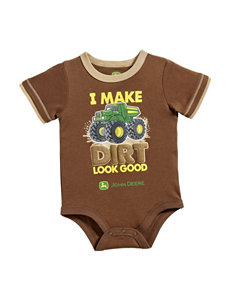 John Deere I Make Dirt Look Good Bodysuit – Baby 3-12 Mos.