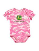 John Deere Pink Camouflage Print Bodysuit – Baby 3-12 Mos.