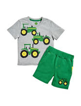 John Deere 2-pc. Tractor T-shirt & Shorts Set – Baby 3-24 Mos.