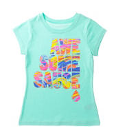 Twirl Aqua Verde Awesome Sauce Top – Girls 7-16