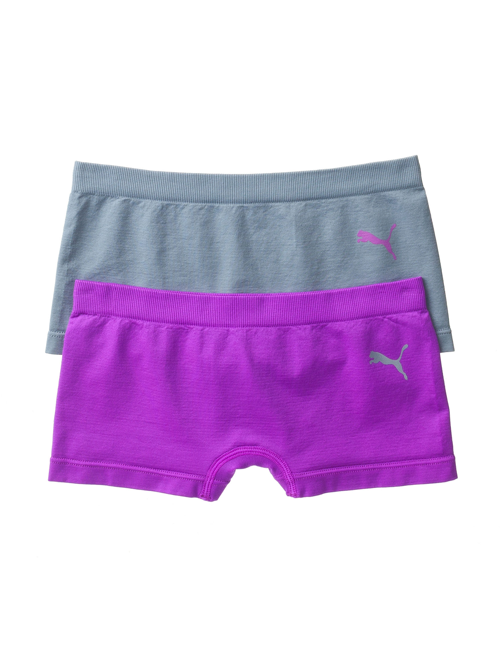 Puma Purple / Grey Panties