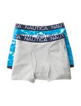 Nautica 2-pk. Ocean Print Boxer Briefs
