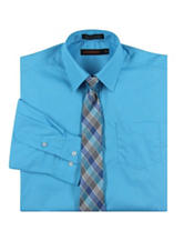 Dockers Dress Shirt & Tie Set - Boys 8-18