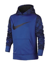 Nike® Black Therma-fit Swoosh Hoodie – Boys 8-20