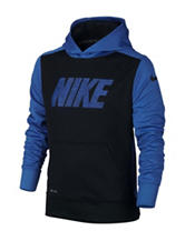 Nike® Black & Blue Therma-fit Hoodie – Boys 8-20