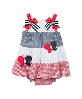 Rare Editions Gingham Americana Dress – Toddlers & Girls 5-6x