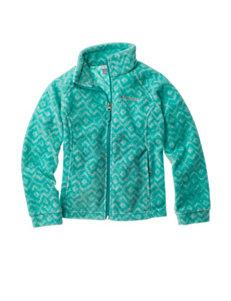 Columbia Green Fleece & Soft Shell Jackets