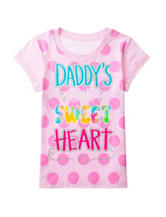 Twirl Pink Petal Sweet Heart Top – Girls 7-16