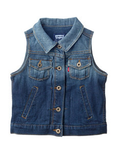 Levi's New Attitude Denim Vest - Girls 7-16