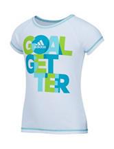 adidas® Goal Getter Raglan Top –Toddlers & Girls 4-6x