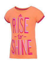 adidas® Rise To Shine Top – Toddlers & Girls 4-6x