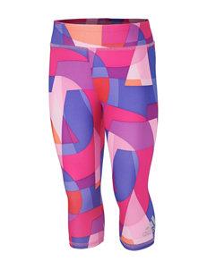 adidas® Multicolored Capris Leggings – Toddlers & Girls 4-6x