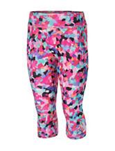 adidas® Pink Multicolored Mosaic Capri Leggings – Toddlers & Girls 4-6x