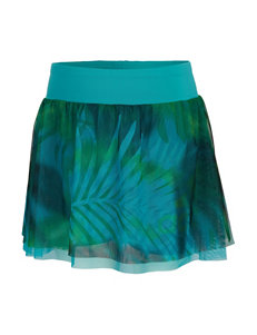 adidas® Serenity Tropical Skort – Toddlers & Girls 4-6x