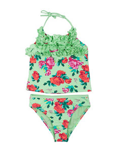 Betsey Johnson Floral Tankini