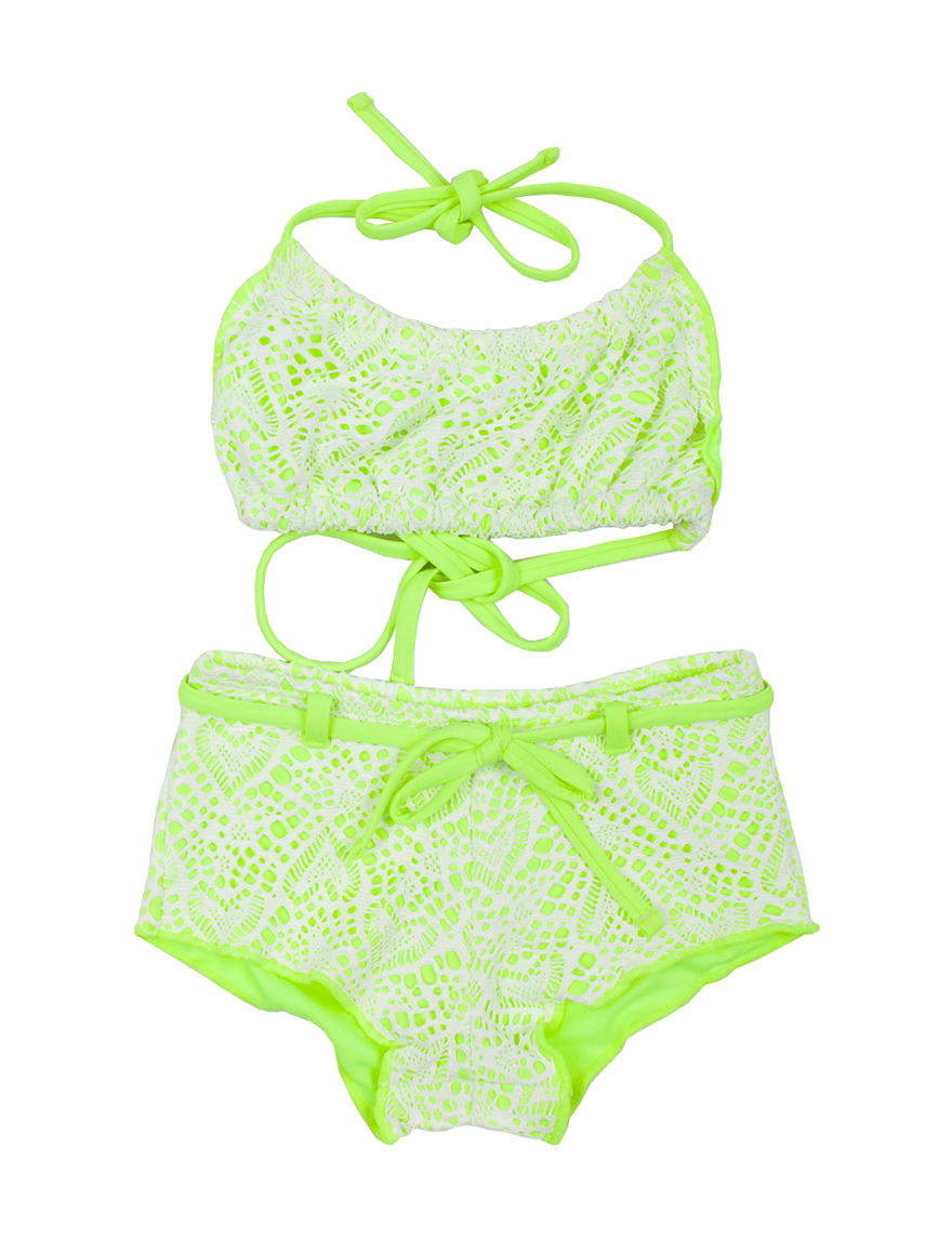 Betsey Johnson Lime Boyshort
