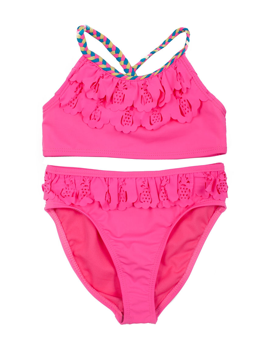 Betsey Johnson Pink Tankini
