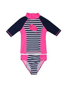Betsey Johnson Navy Swimsuit Sets