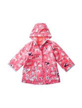 Carter's® Pink Dog Print Raincoat – Baby 12-24 Mos.