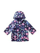 Carter's® Navy Floral Raincoat – Baby 12-24 Mos.