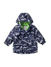 Carter's® Navy Dinosaur Raincoat – Baby 12-24 Mos.