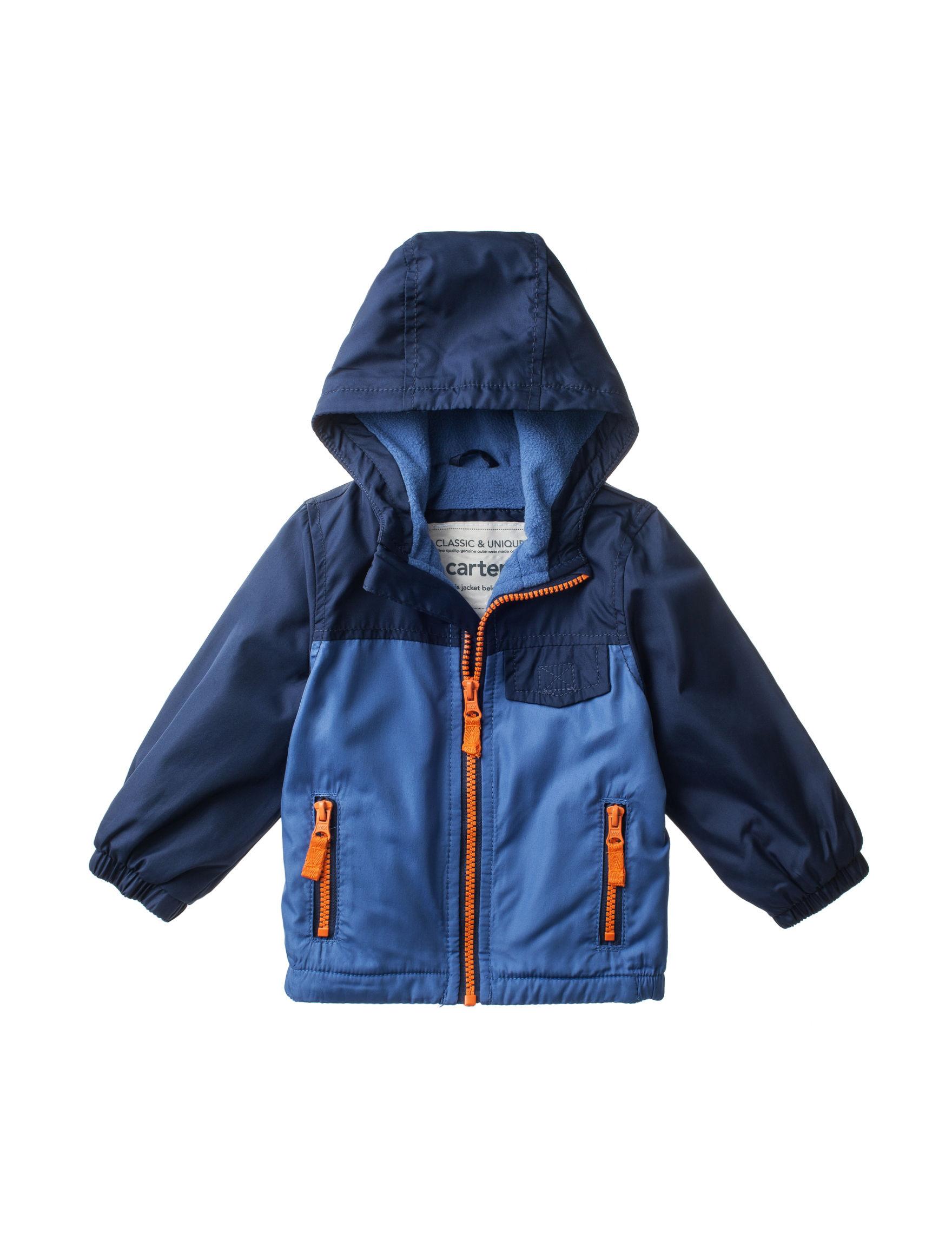 Carter's Blue Lightweight Jackets & Blazers