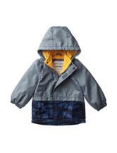 Carter's® Grey Camo Fleece Lined Windbreaker – Baby 12-24 Mos.