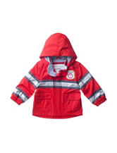 Carter's® Red Fleece Lined Fireman Raincoat – Baby 12-24 Mos.