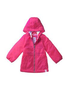 Carter's® Pink Fleece Lined Trench Coat – Baby 12-24 Mos.