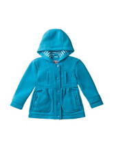 Urban Republic Solid Color Snap-Up Fleece Jacket - Baby 12-24 Mos.
