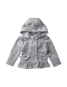Urban Republic Gray Fleece Jacket – Baby 12-24 Mos.